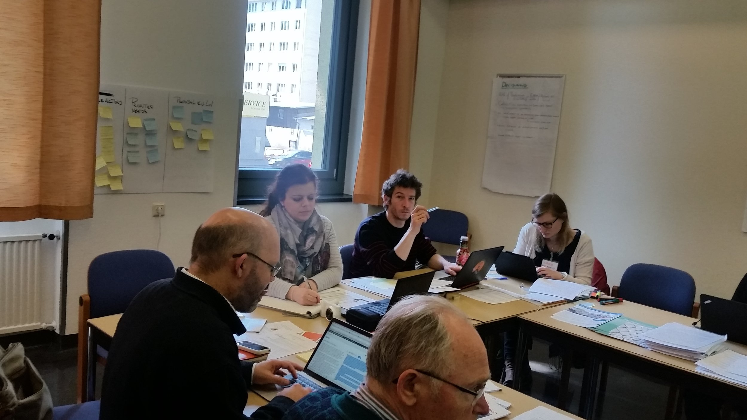 RCC Europe facilitated the meeting.