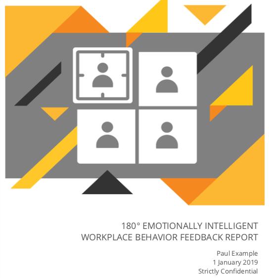 EI Workplace 180 Feedback Report