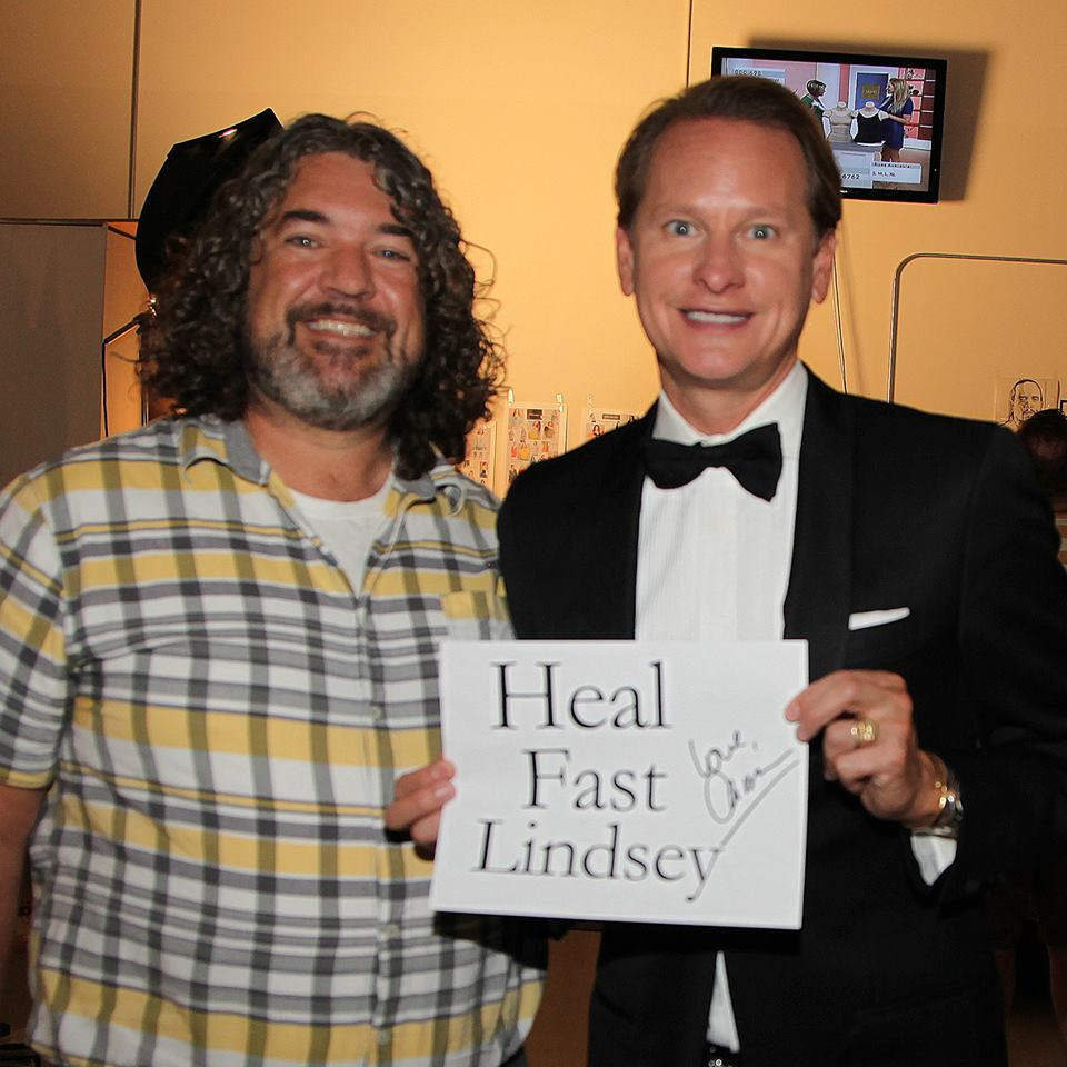 Cousin Jerry and Carson Kressley