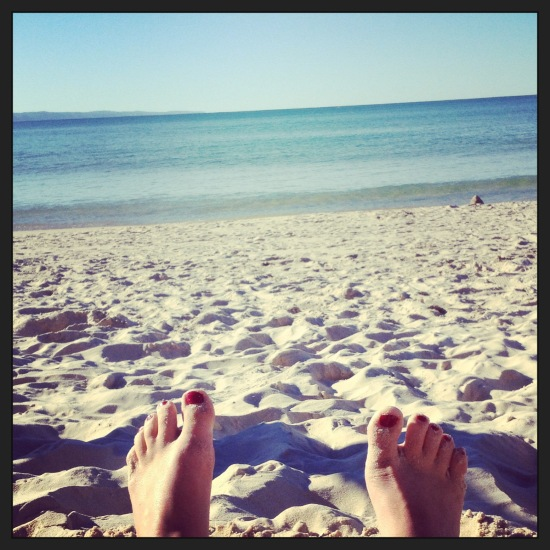 One final trip to Noosa Beach before home. A 'pinch myself' moment.