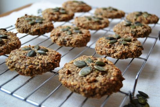 Three ingredient cookies poppy seed and pumpkin seeds.jpg