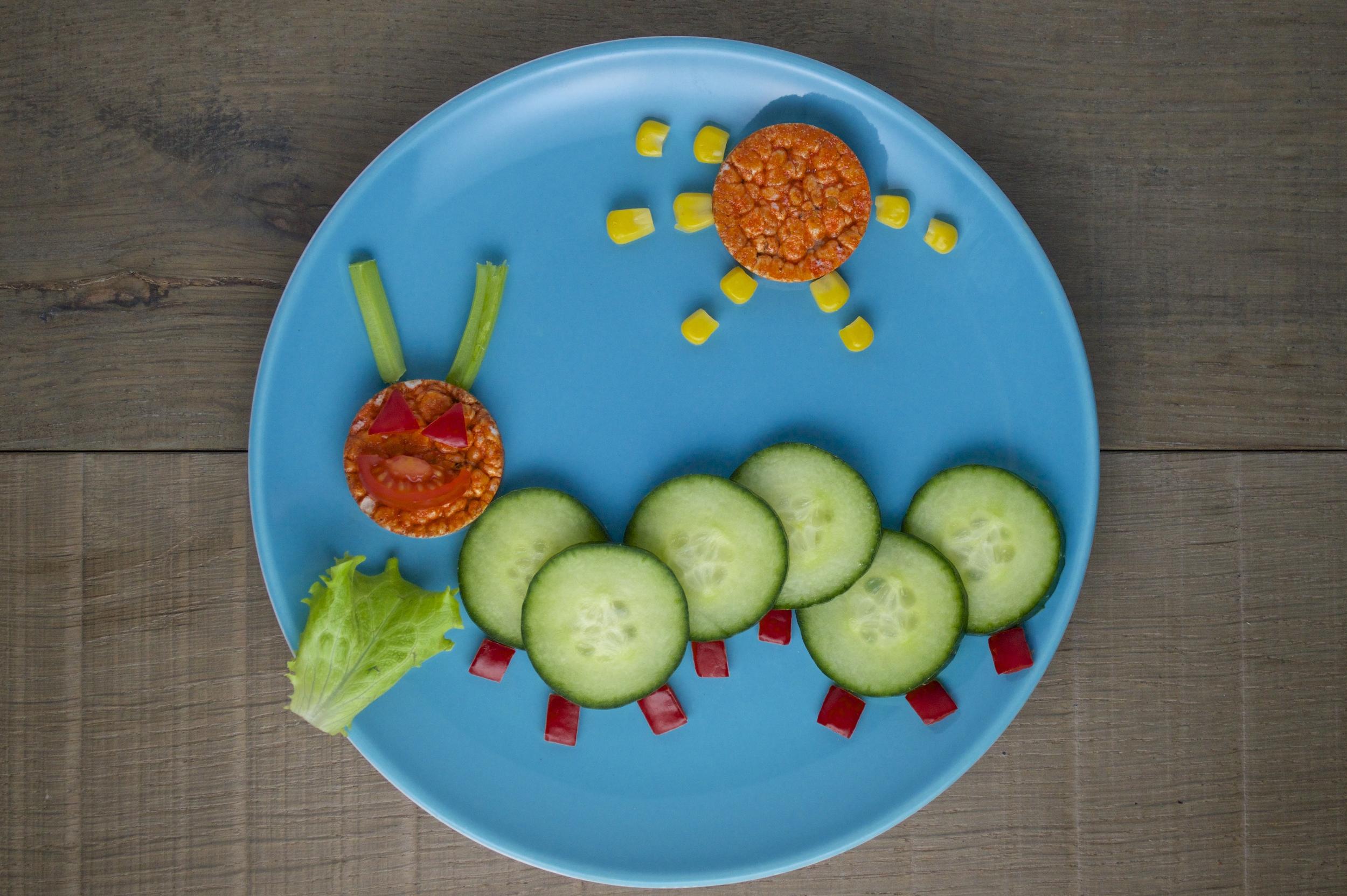 Caterpillar Fun Plate by Organix