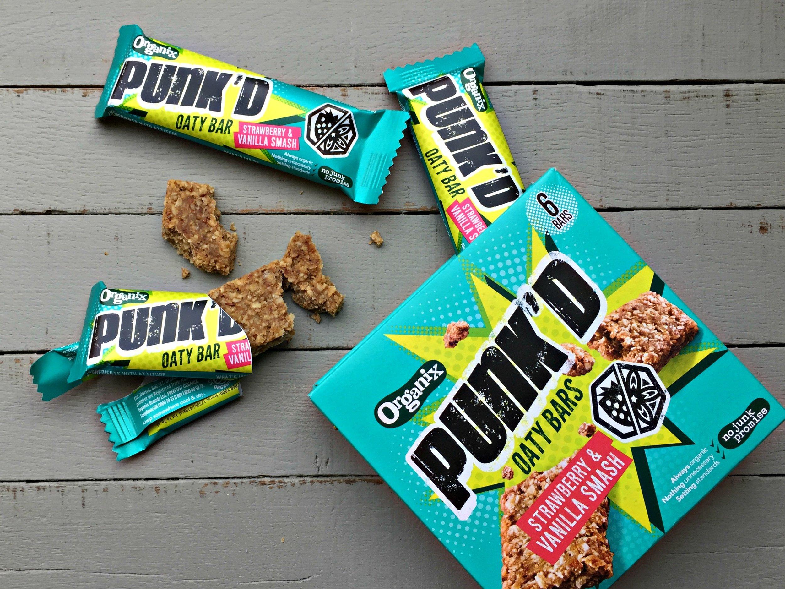 Organix Punk'D Strawberry & Vanilla Smash
