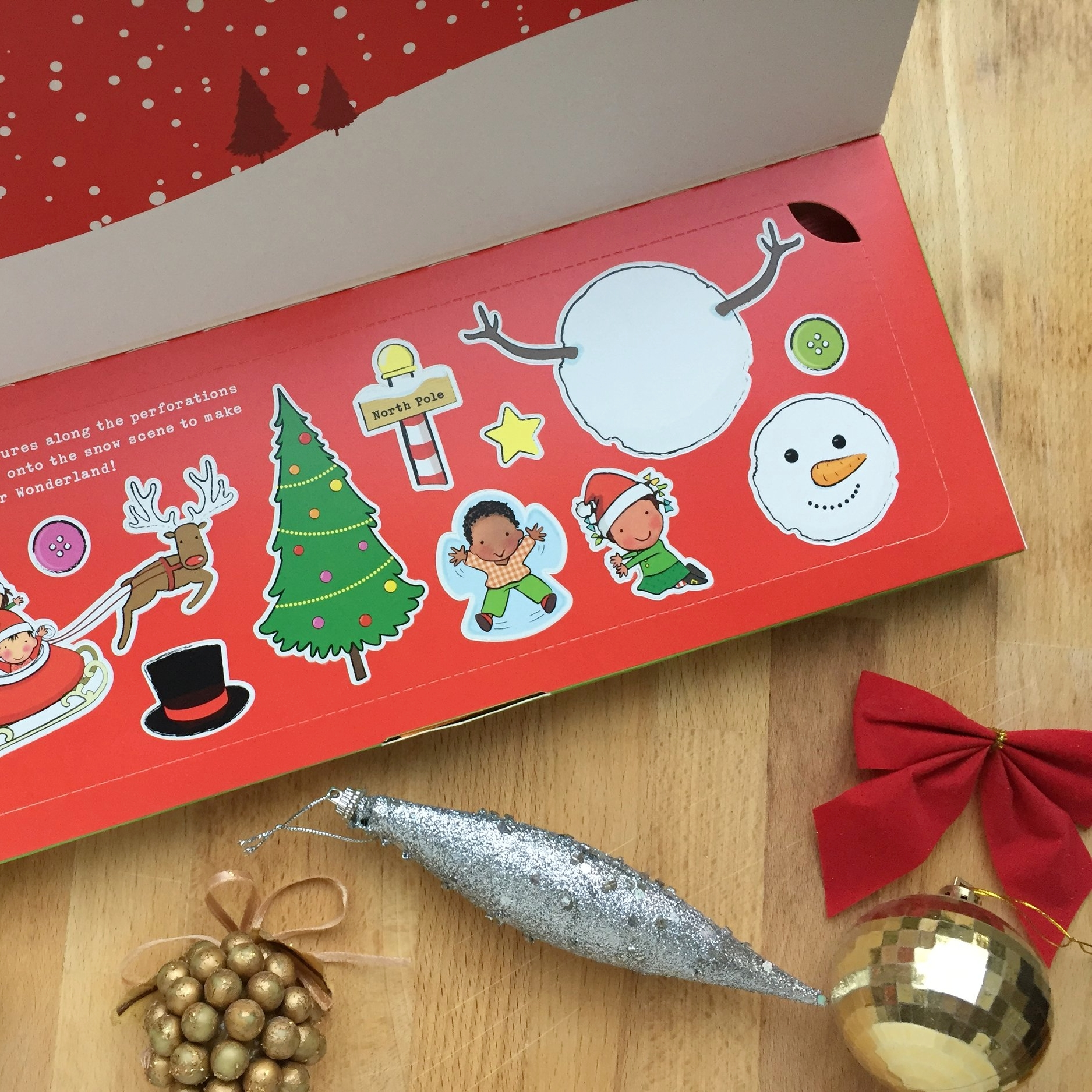 Organix Christmas Selection Box Activities