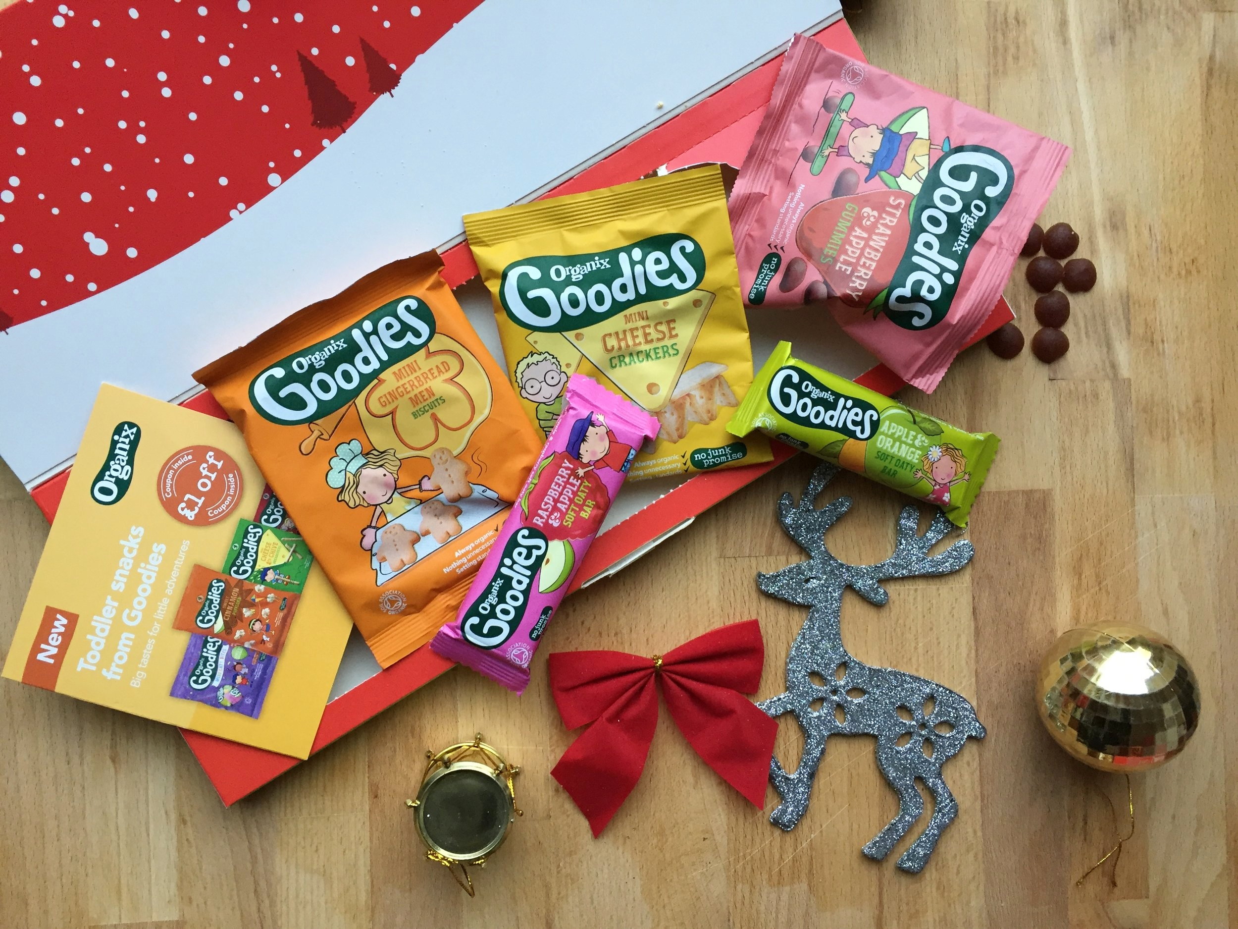 Organix Christmas Selection Box Contents