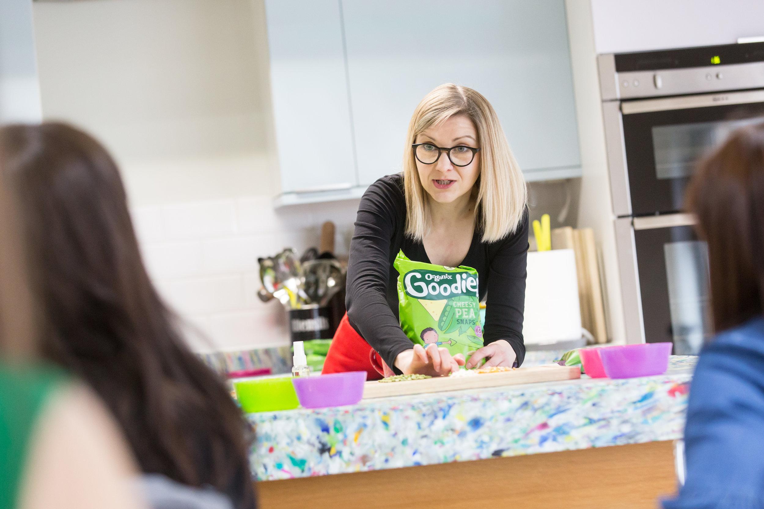 Emily Day - Food Development Manager for Organix ©Barbara Evripidou/FirstAvenuePhotography.com