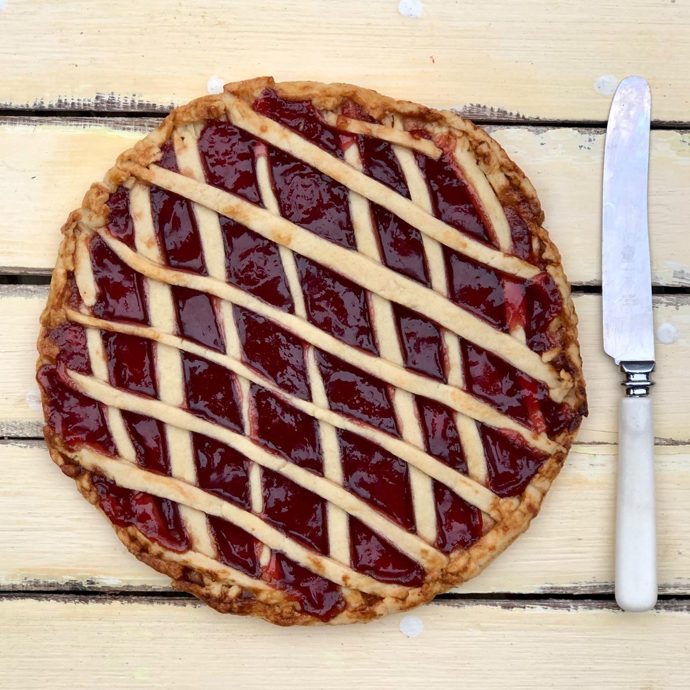 Jam Tart with leftover pastry.jpg