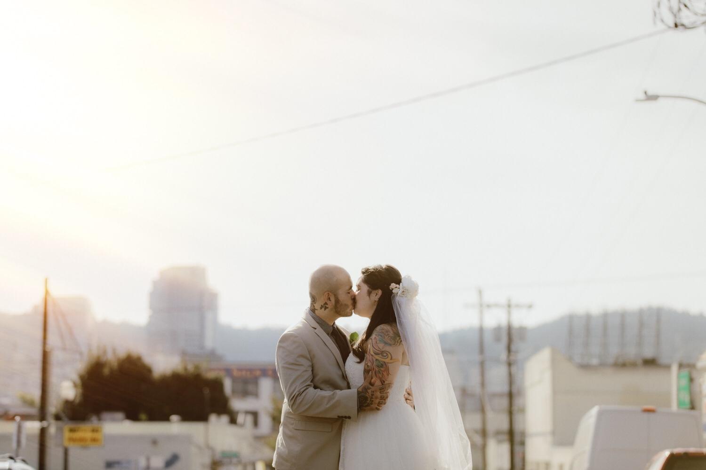 Union/Pine Portland City wedding Kandice + Oak by  Catalina Jean