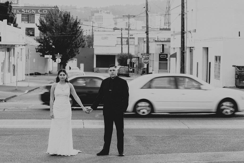 Union/Pine Portland City wedding Kaitlin + Kyle by  Catalina Jean
