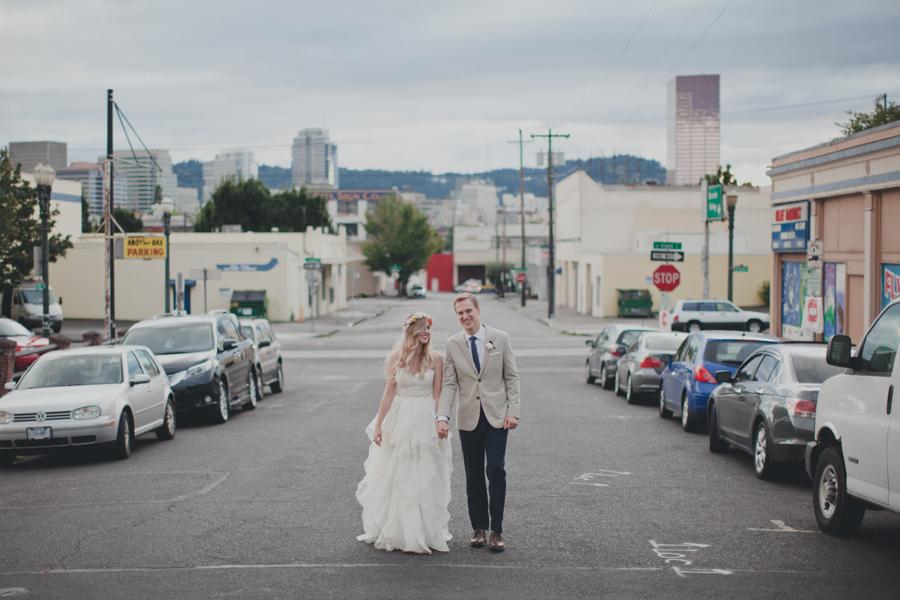 Union/Pine Portland City wedding Kimberly + Kyle by  Terra Lange