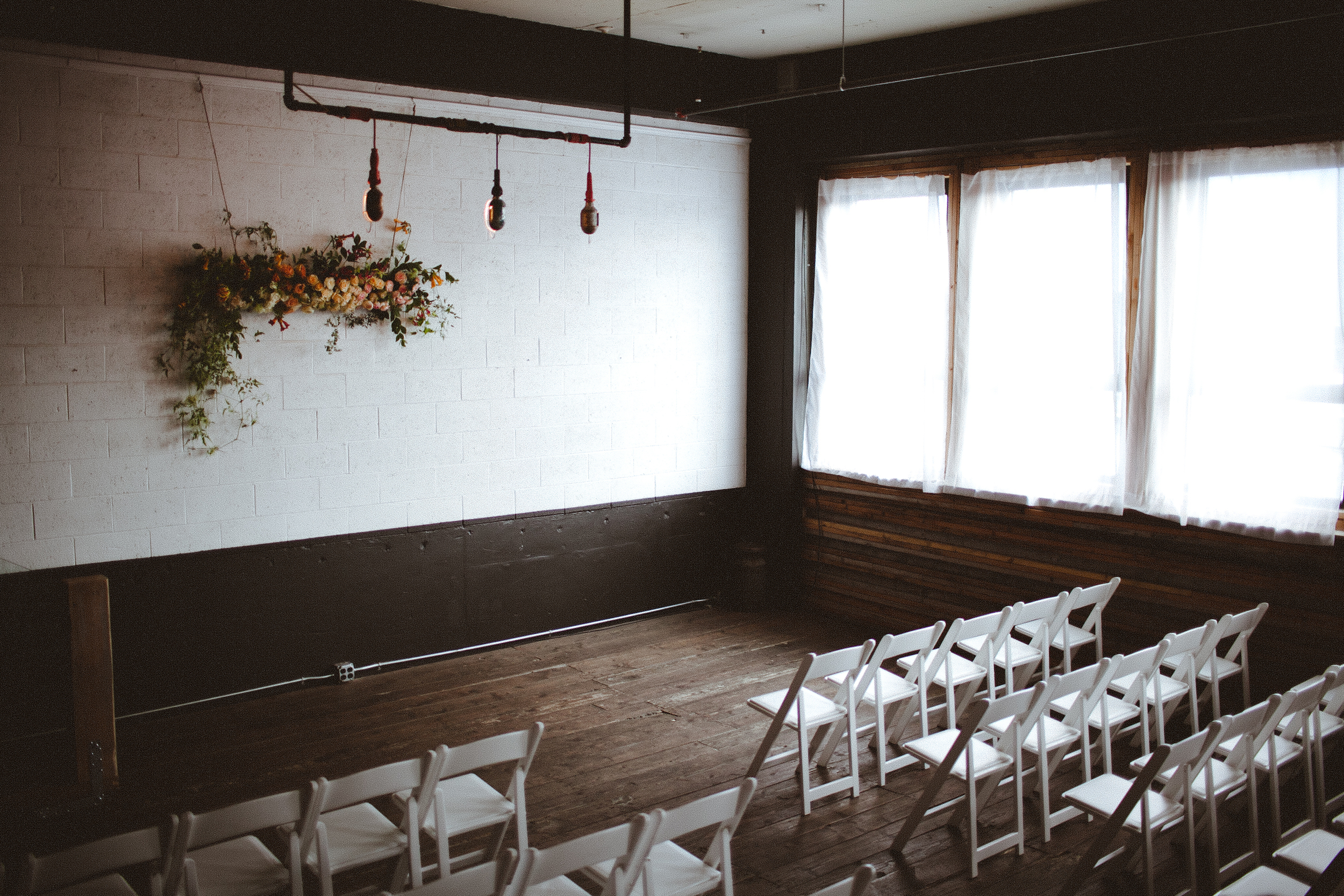 Union/Pine - Portland Wedding Venue Photo by  The Fischers Handmade  Floral by  Solabee