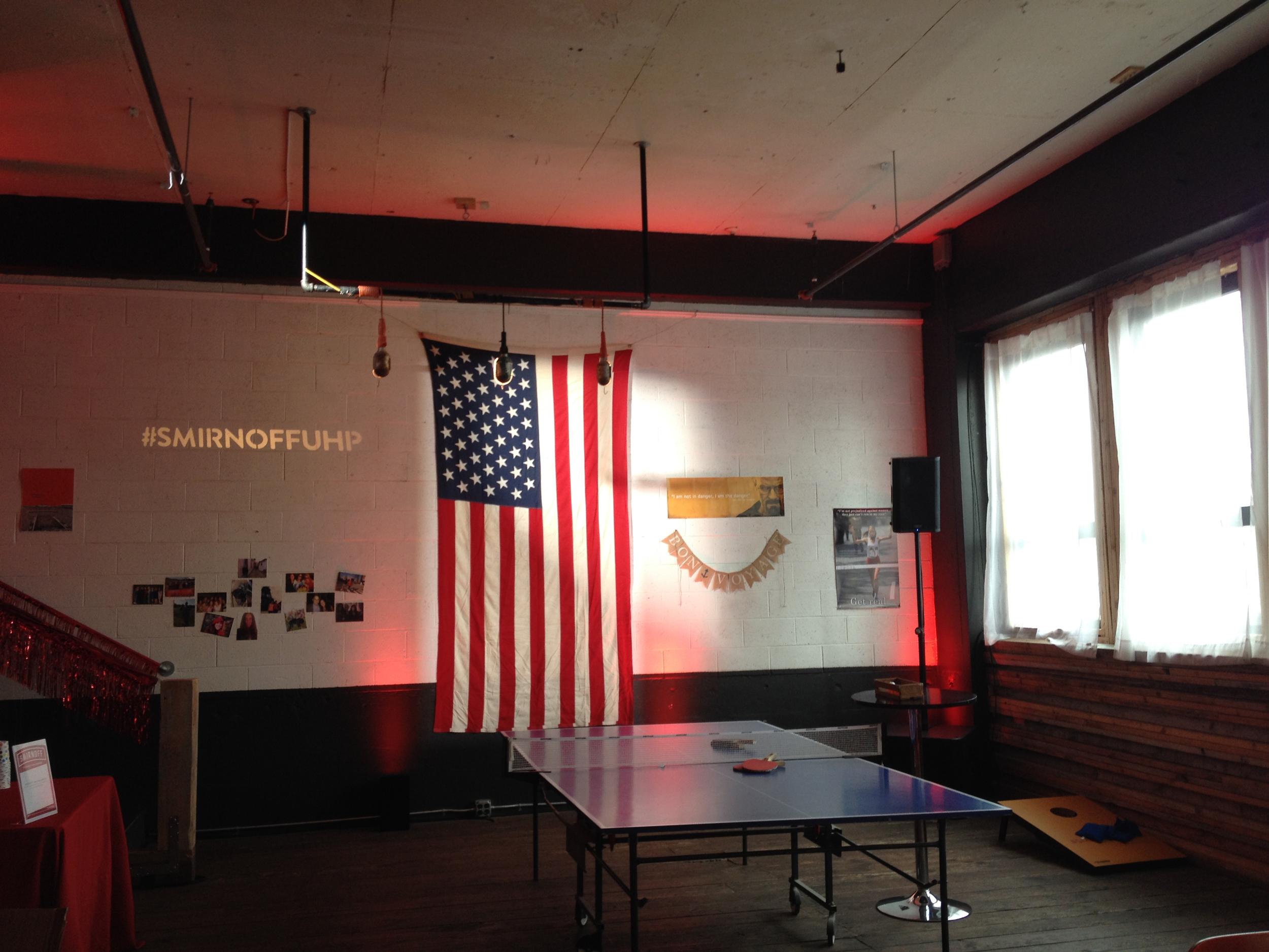 Smirnoff Airbnb event
