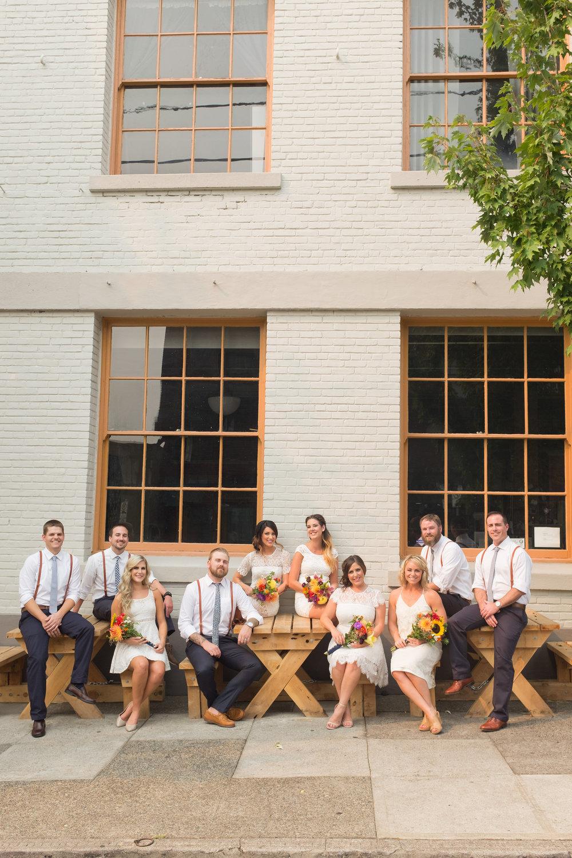 Union/Pine,Portland Wedding Venue photo by  Ellie Asher
