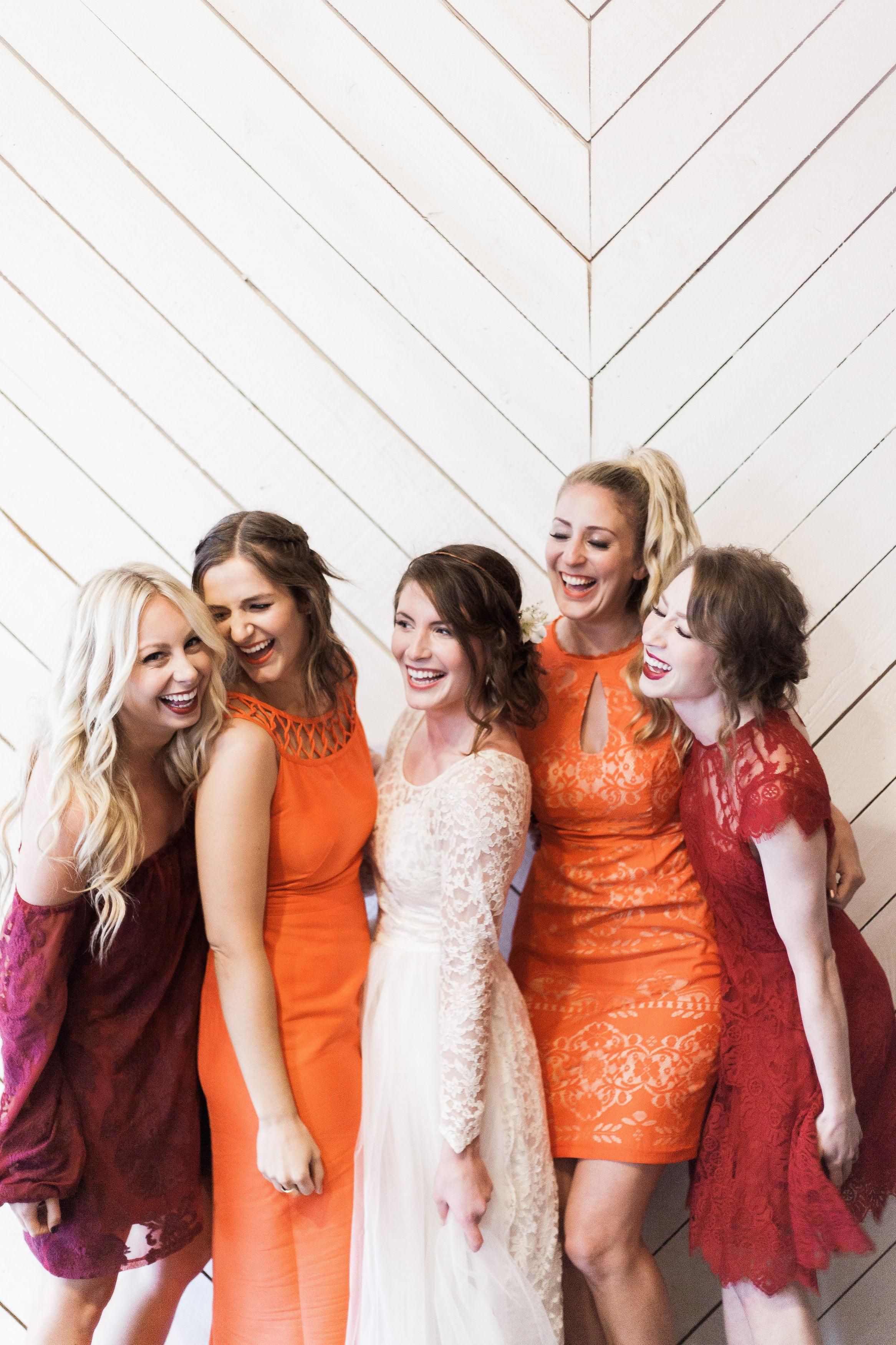 Perfect bridesmaids colors!