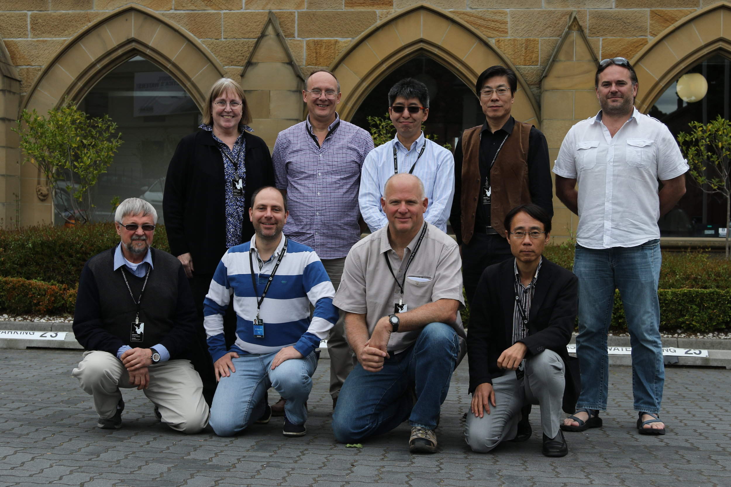Photo: The founding Science Advisory Group from 2009 with Dr. Polly A. Penhale, Dr. Phil Trathan, Dr. So Kawaguchi, Dr. Andrew Lowther, Dr. Gennadi Milinevsky, Dr. Javier Arata, Dr. Rodolfo Werner and Dr. Taro Ichii