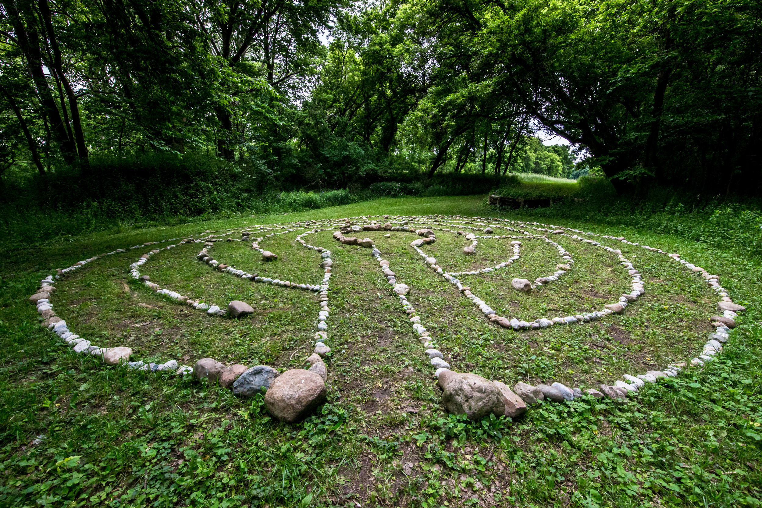 Discover the sacred gift of the labyrinth