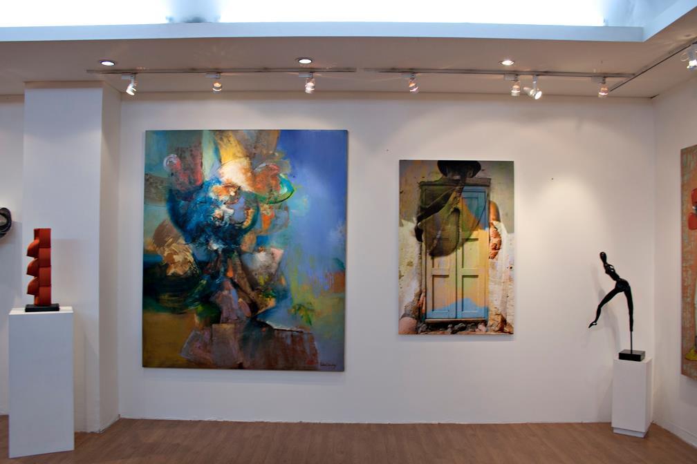 Exposición Galería de Expreso del Arte GEA - Bogotá Colombia.