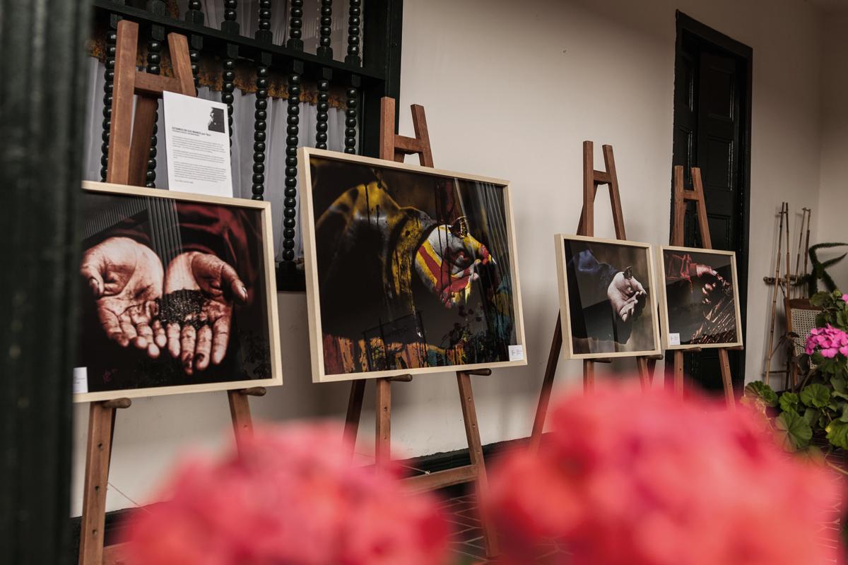 Exposición Estamos en sus manos. Tibasosa Boyacá Colombia.