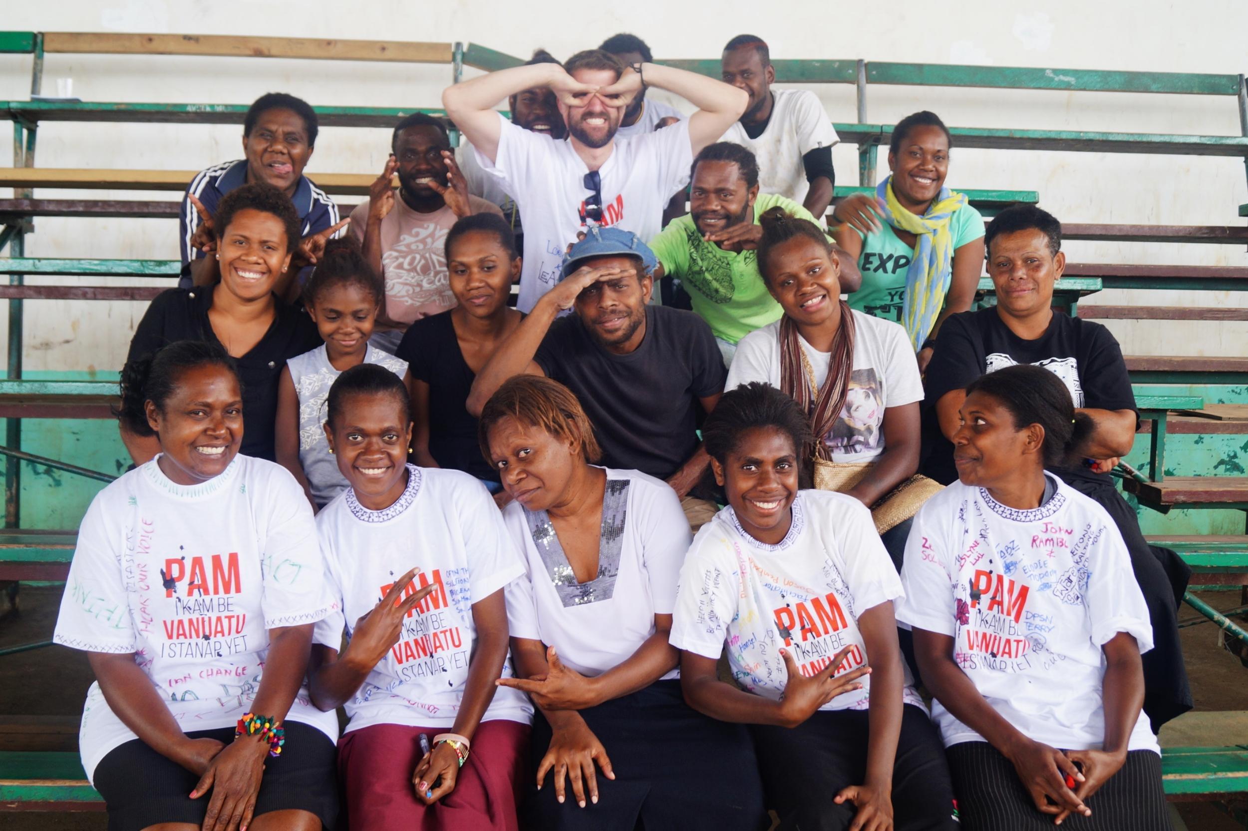 Participants and Facilitators from LBD Port Vila, October 2015.