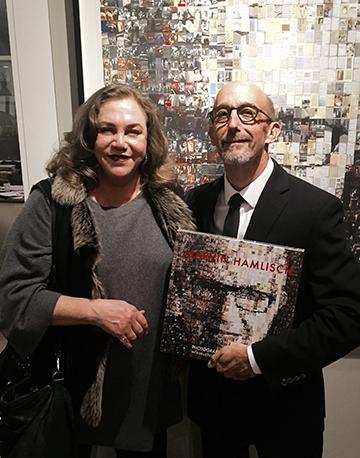 Kathleen Turner & Len Prince @ Staley Wise Gallery NYC Dec10,2015