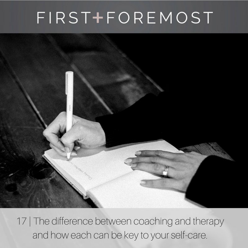 First + Foremost The Everygirl Life Coaching Jen Wille