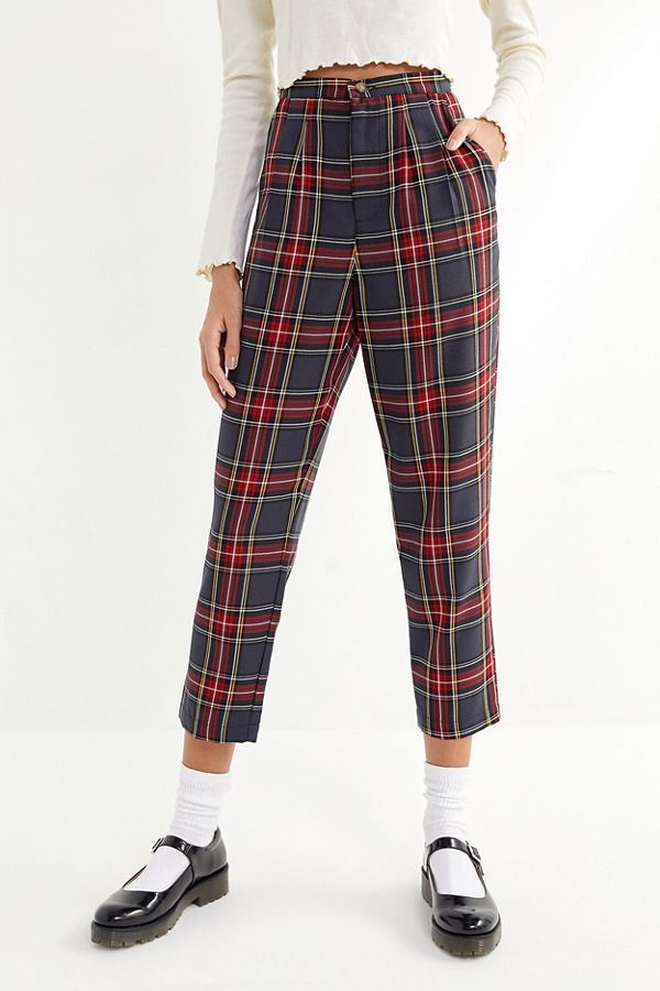 Urban Renewal Plaid Trousers