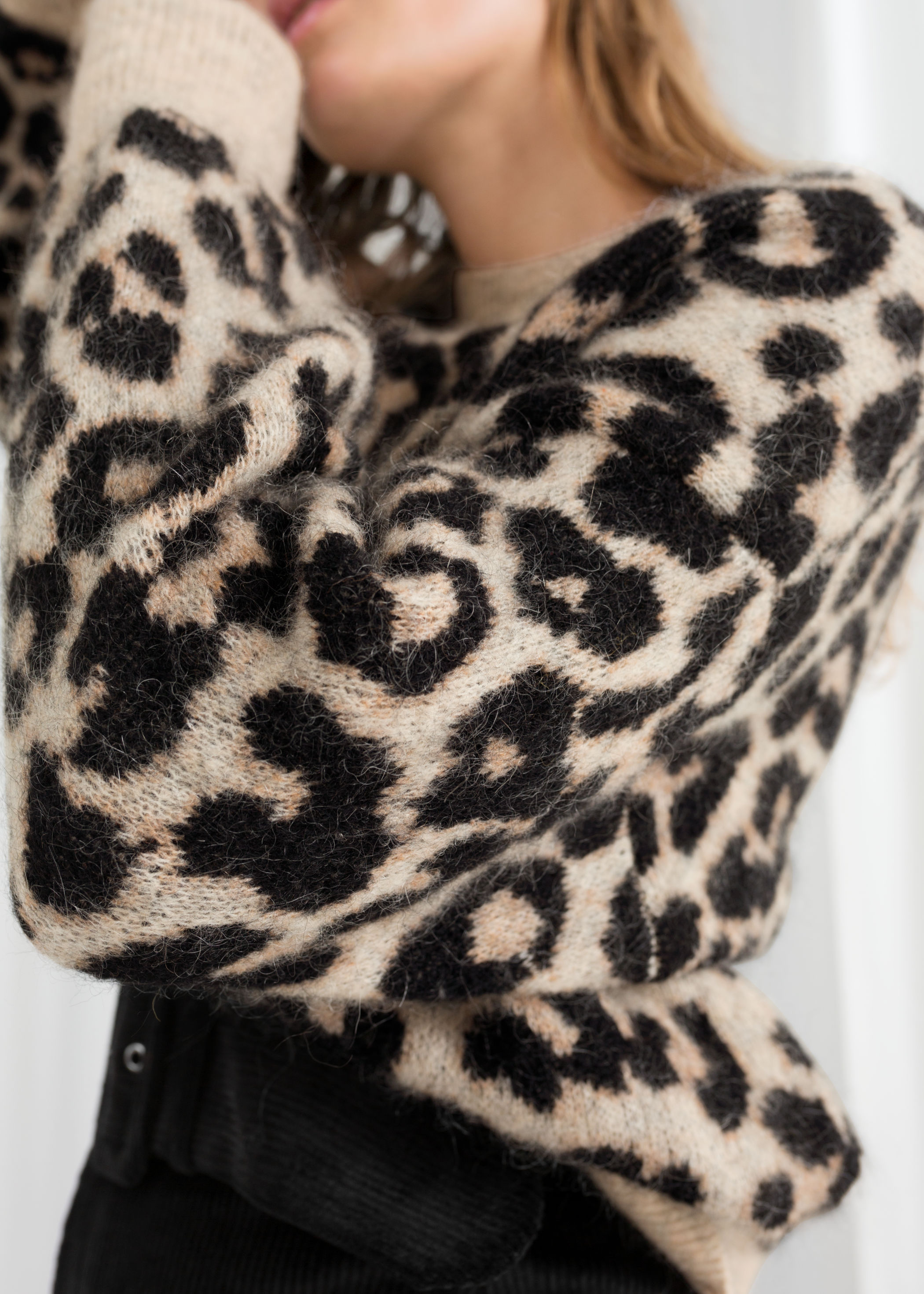 And Other Stories Leopard Sweater