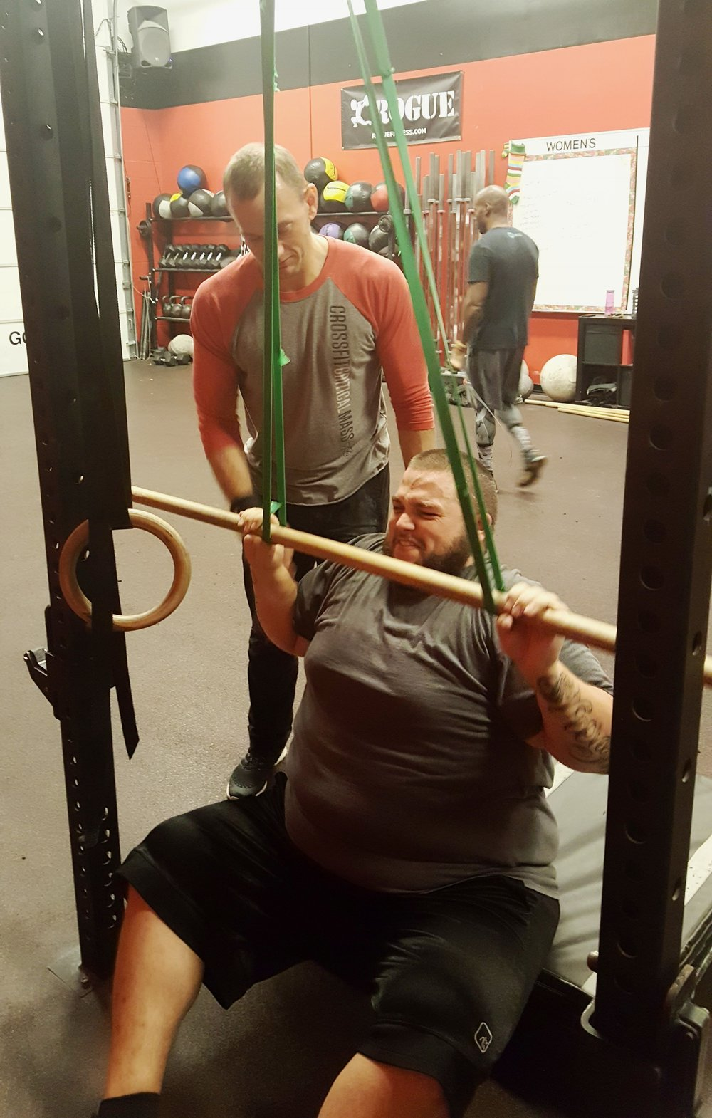 Skills are progressive and are built through basic movements. Helping athletes take the time to build the strength in basic positions allows the coaches at CFCM to help our athletes progress to more complex movements.