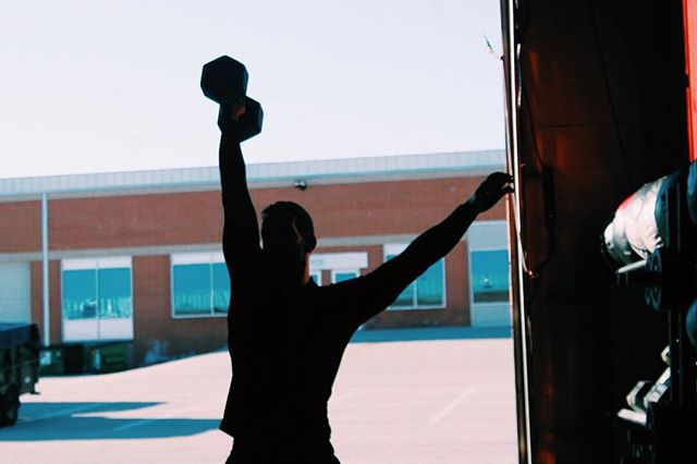 We practice courage by pushing our limits.  Here's to another day of stepping out of our comfort zones with a WOD at CFCM. See you at the box! • • • #cfcm #cfcmmen #fitmen #crossfit #fitness #functionalfitness #strong #dumbbells #wednesdaymotivation