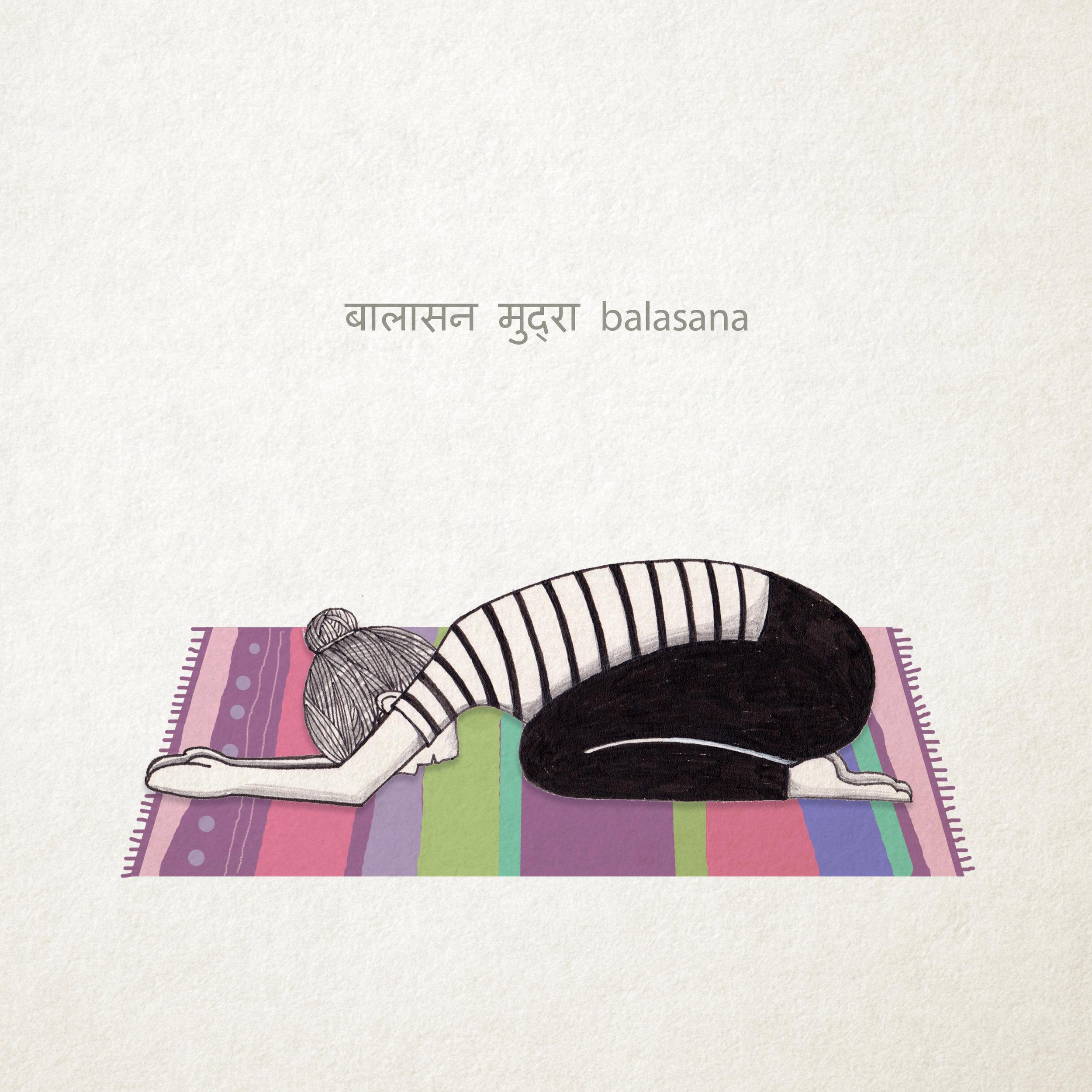 Balasana - Child's Pose