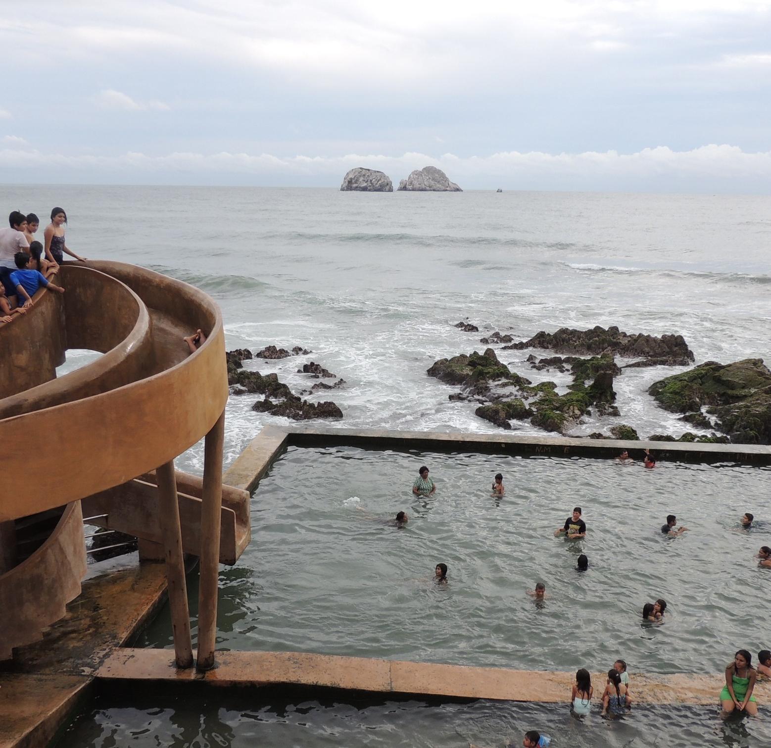 pool in the ocean