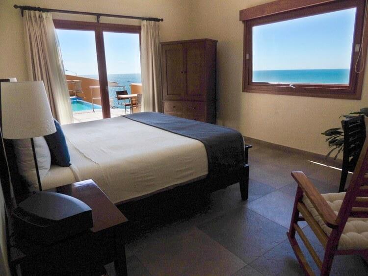 view from hotel room in mazatlan