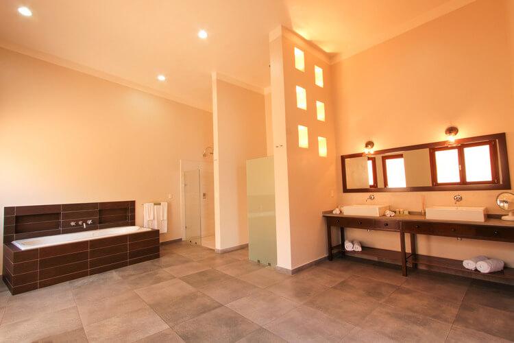 bathroom in hotel room in mazatlan, mexico