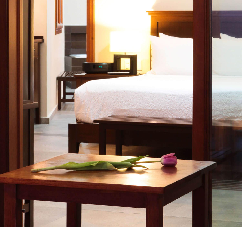 big hotel room in Mazatlan