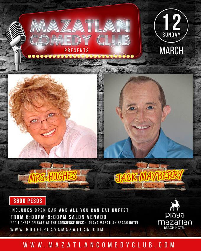 march comedy club