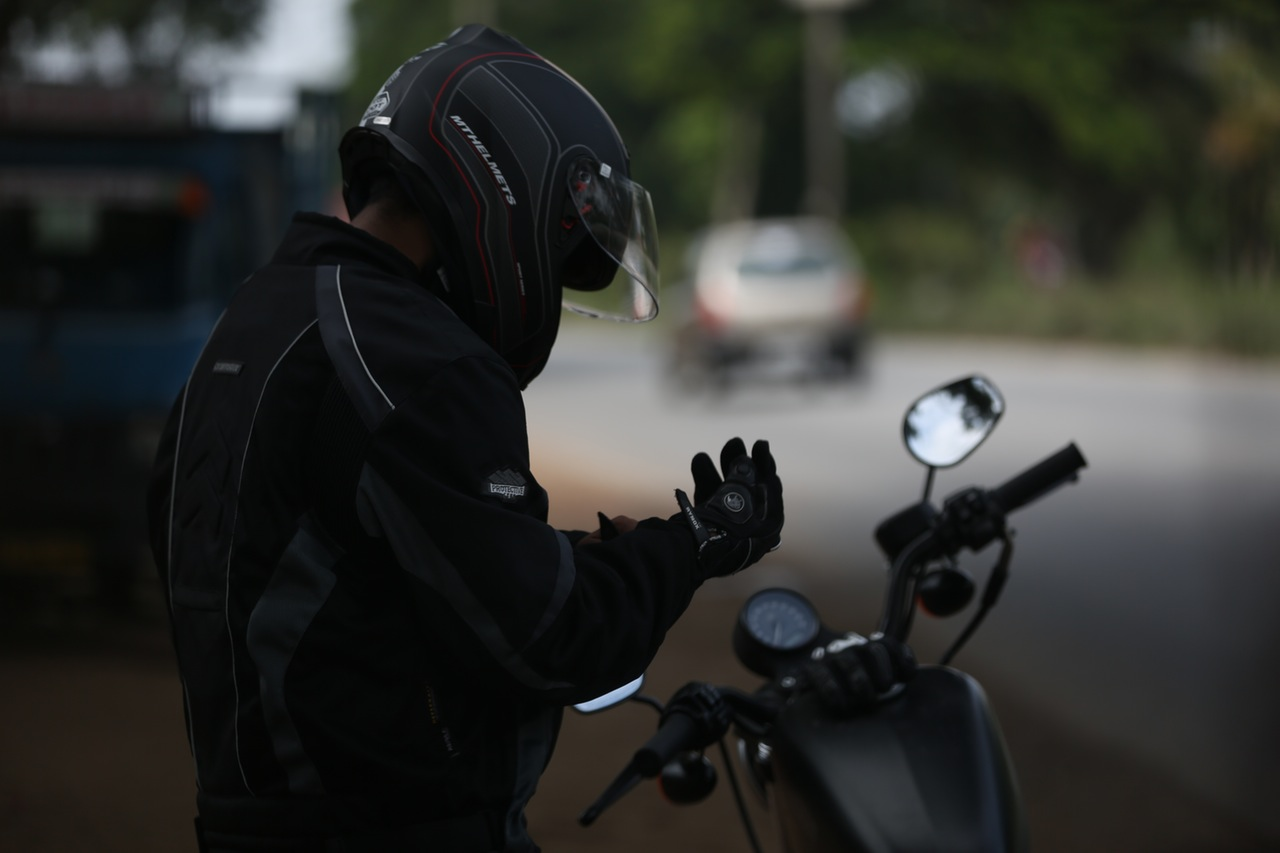 motorcyclist in mazatlan