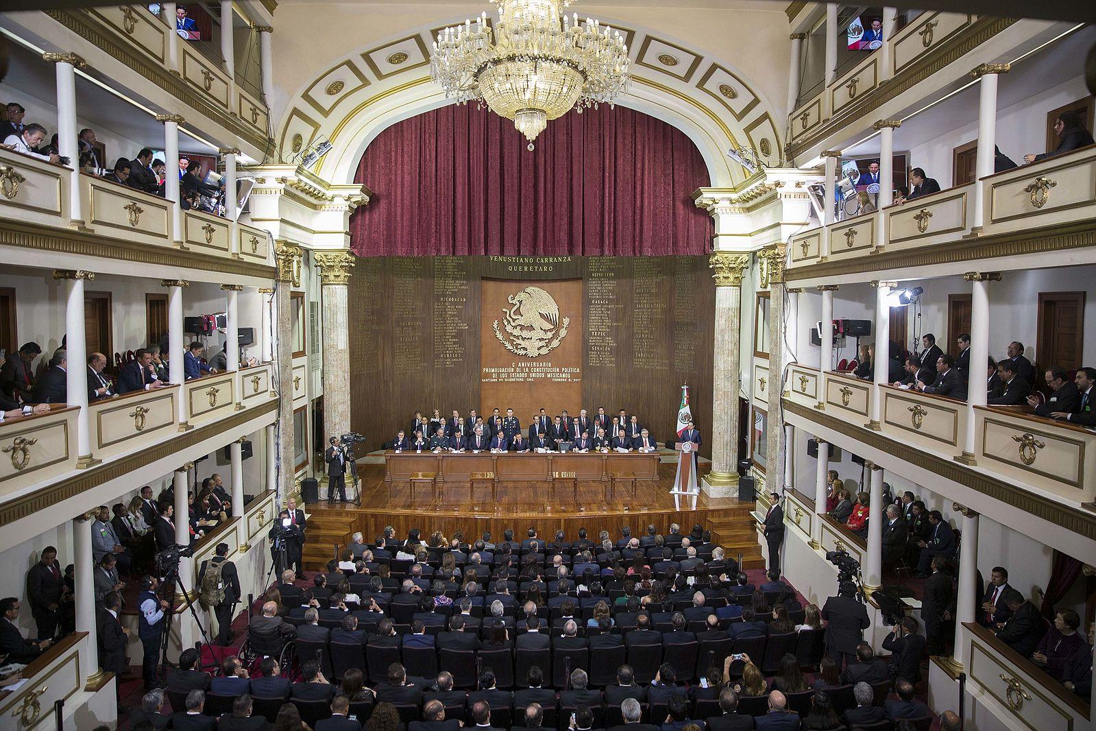 100 Aniversario de la Promulgación de la Constitución Política de los Estados Unidos Mexicanos