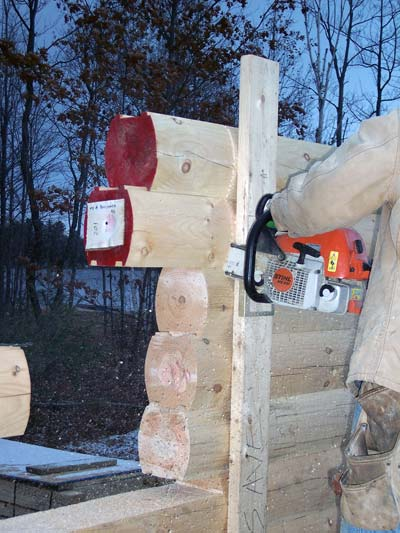 Log Stacking