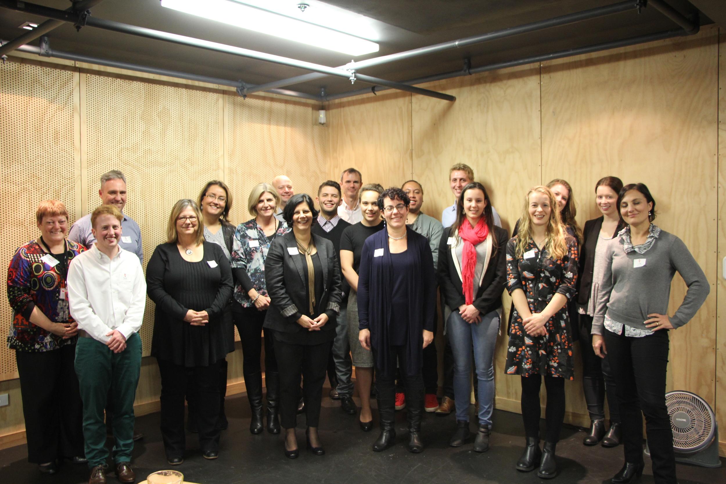 Mentees & Mentors from Auckland, Hamilton & Christchurch