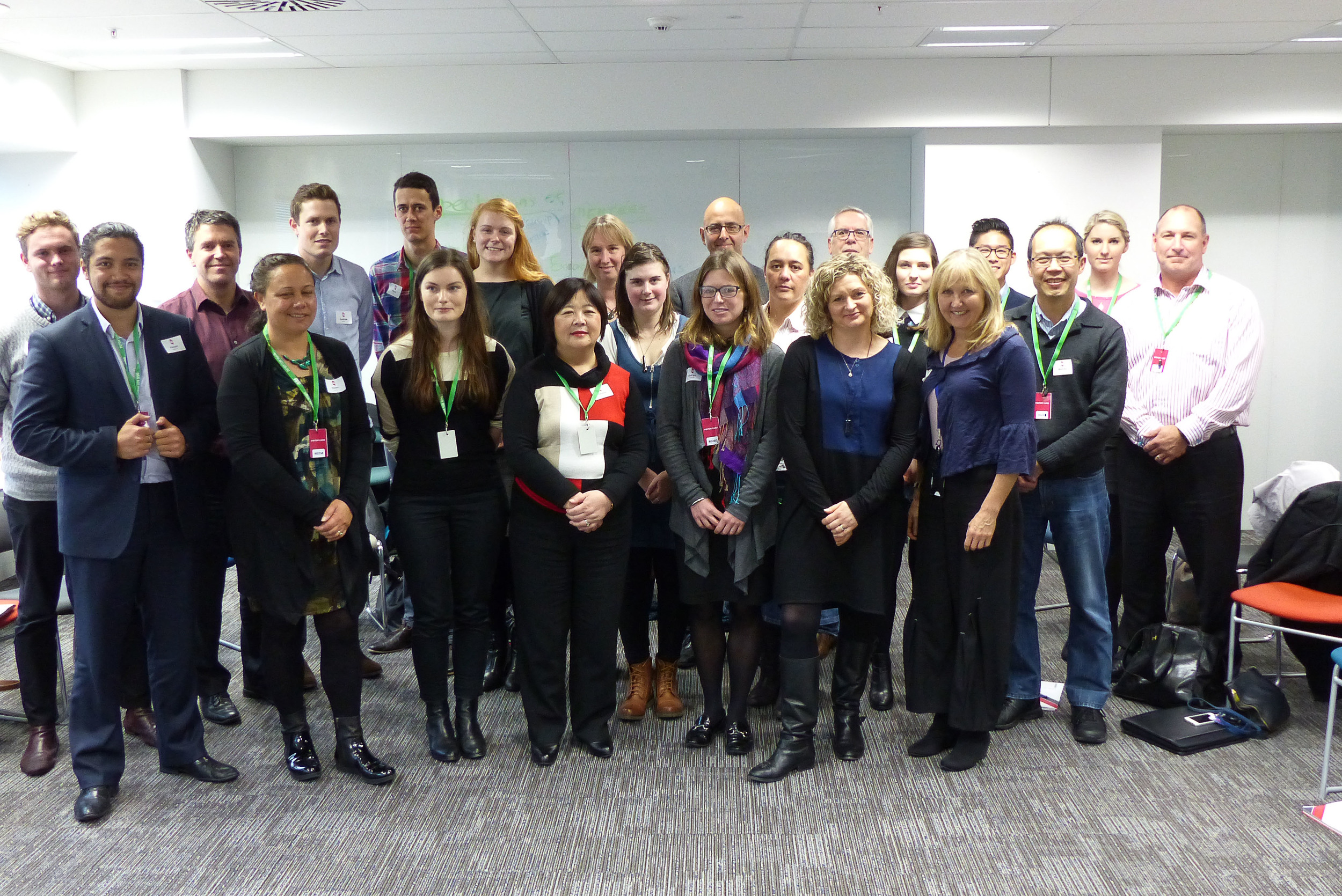 Mentees & Mentors from Wellington & Dunedin