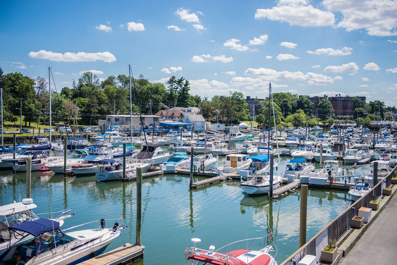 New Rochelle Municipal Marina, Ferris Creek, New Rochelle