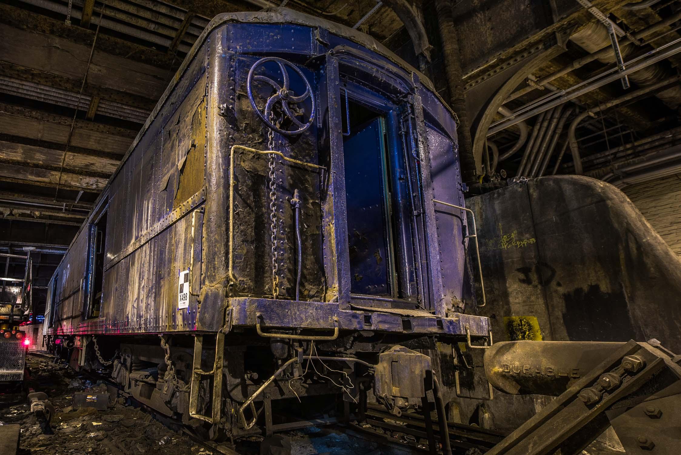 Abandoned Track 61 under the Waldorf Astoria
