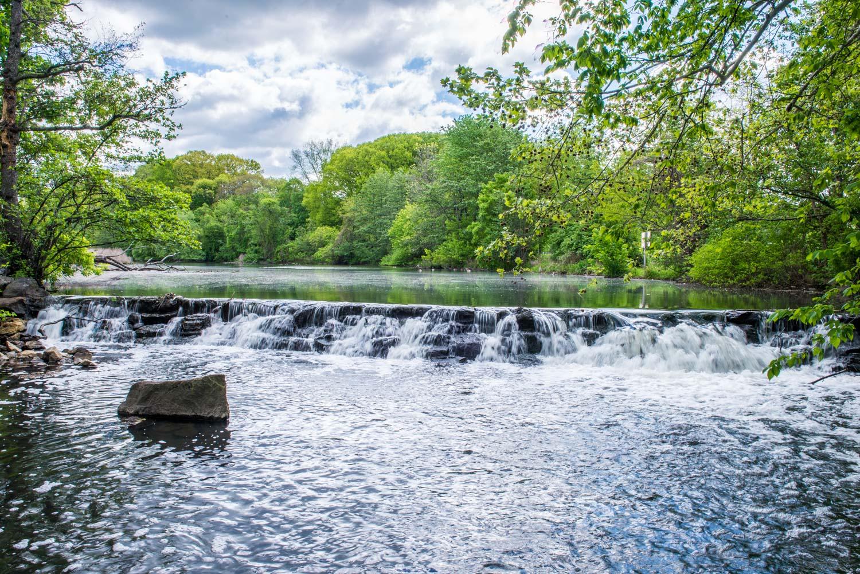The Bronx River, Tuckahoe