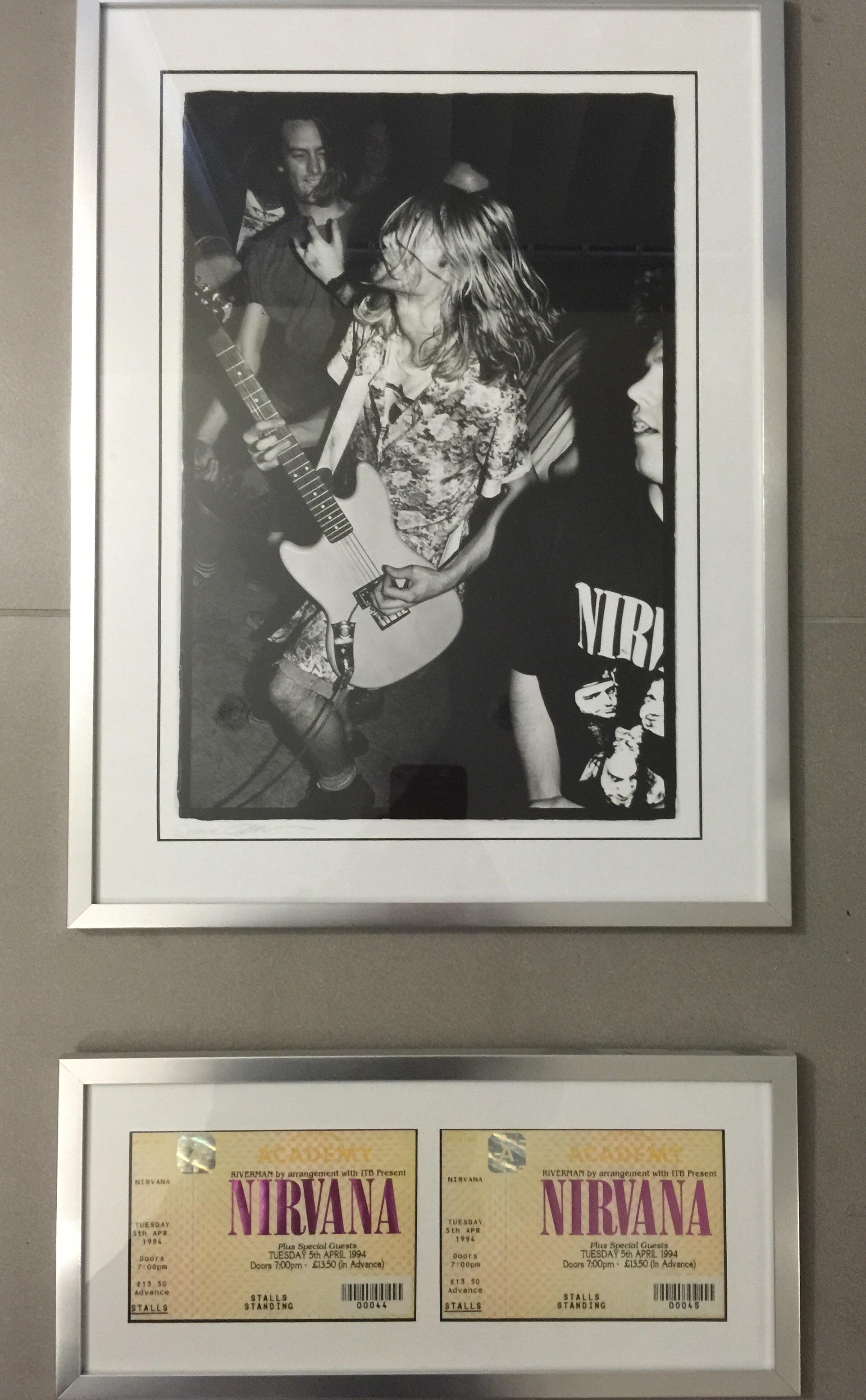 My enduring memory of Kurt Cobain - £27 well spent!