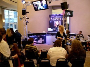 Women of Faith Event (make-up lessons and make-overs)