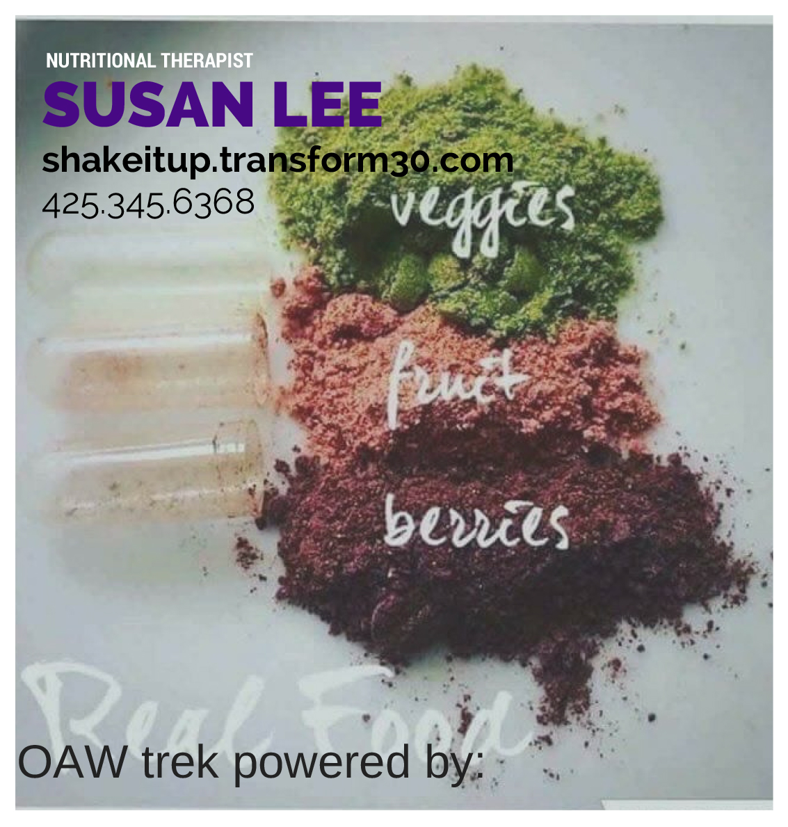 Susan Lee/Juice Plus representative