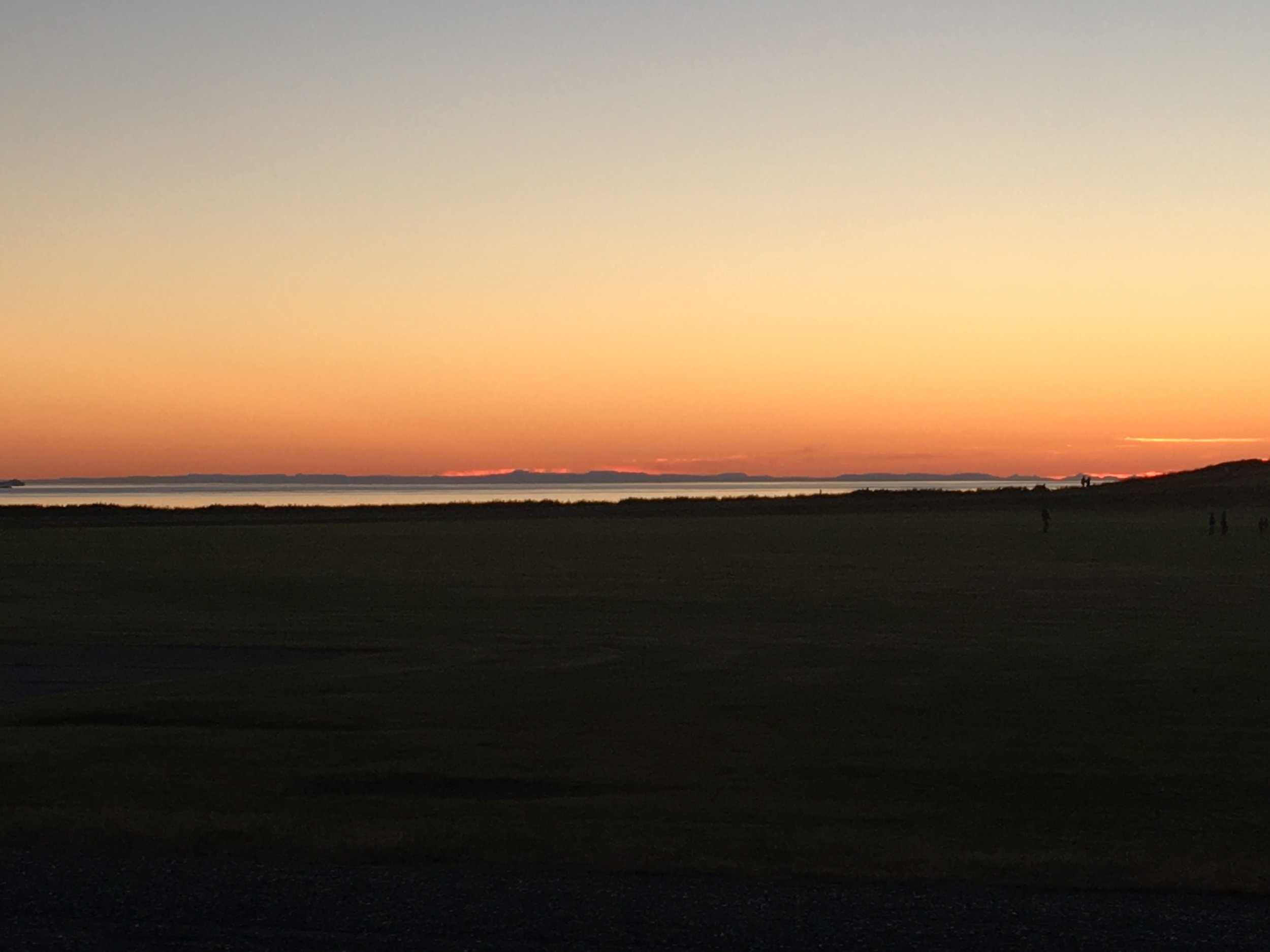 Whidbey Island sunset.