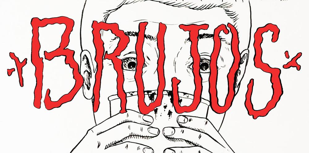 Orlando Camacho is drawing a graphic novel based on Ricardo Gamboa's  Brujos