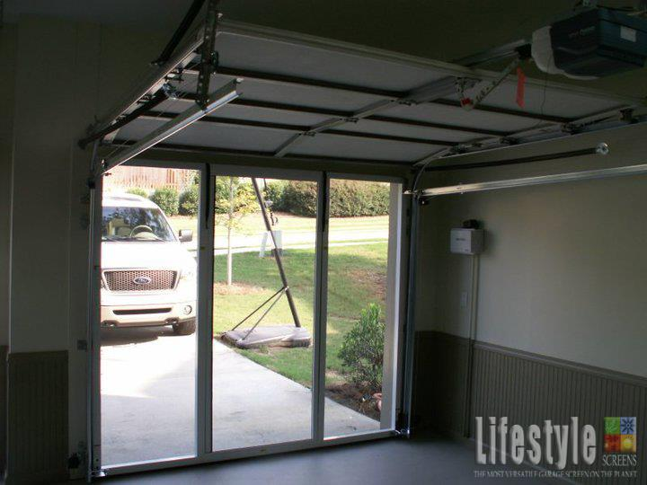 Lifestyle Garage Screen 7 Height Do, How Much Are Lifestyle Garage Door Screens