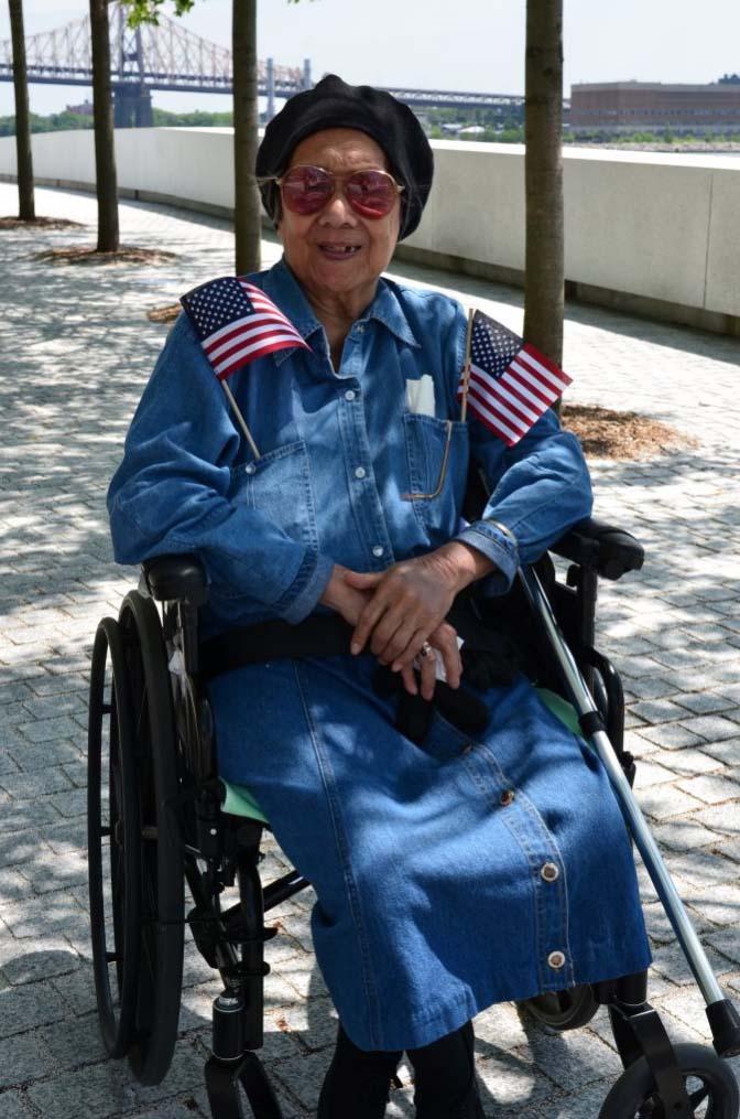 A proud American.
